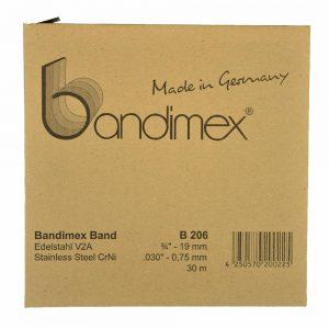 B206 Bandimex Band V2A 19mm 30m